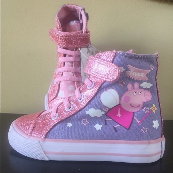 Peppa Pig Toddler High Top Sneakers