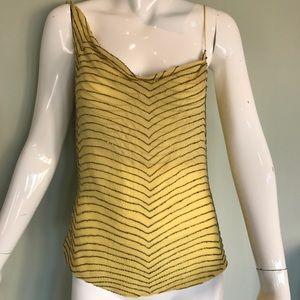 Yigal Azrouel Tops - Designer asymmetrical beaded top