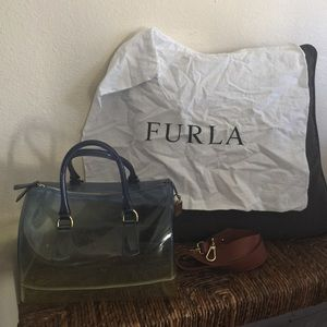 Furla Handbags - Furla Large gradient Satchel Candy Bag