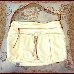 MZ Wallace Handbags - MZ WALLACE water repellant pearl white bag