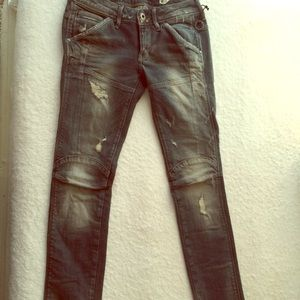 G-Star Pants - G-Star Distressed Jeans
