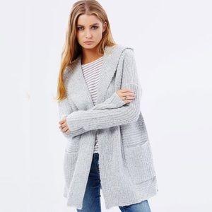 Volcom Sweaters - Volcom Homeword bound sweater cardigan hooded