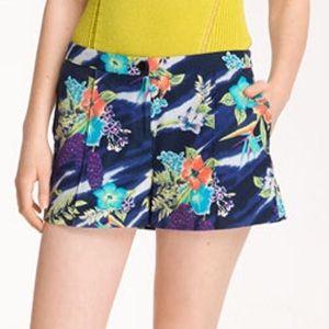 trouvé floral print shorts size 6