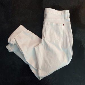 SPANX the Slim-X casual cuffed white denim