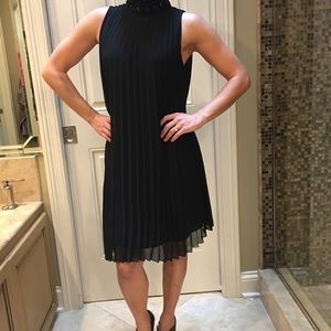 M.STUDIO Dresses & Skirts - M.S.S.P. Black halter accordion dress