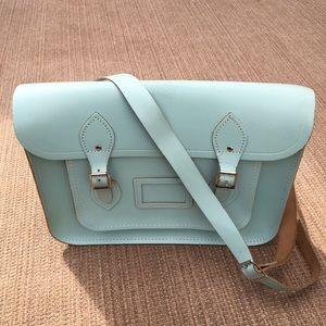Cambridge Satchel Handbags - Cambridge Satchel Company Baby Blue Satchel