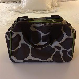 Handbags - Giraffe Print Lunch Tote.