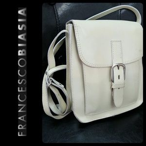 Francesco Biasia Handbags - Francesco Biasia Italy Leather Crossbody Bag