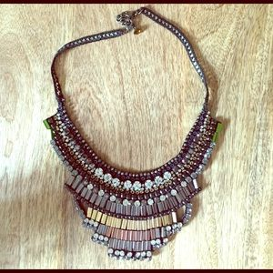 Nocturne Bib Necklace