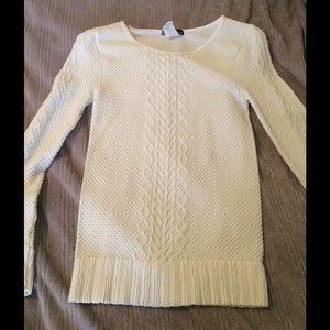 New Ivory Long Sleeve Shirt!