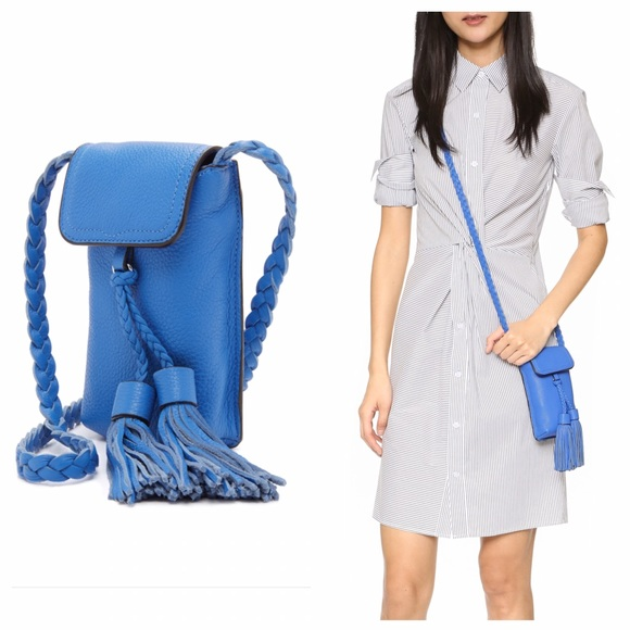 Rebecca Minkoff Handbags - Rebecca Minkoff Isobel Phone Crossbody in Blue