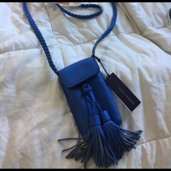 Rebecca Minkoff Bags - Rebecca Minkoff Isobel Phone Crossbody in Blue