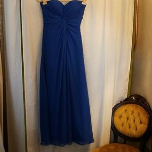 Bill Levkoff Dresses & Skirts - Bill Levkoff Royal Blue Gown