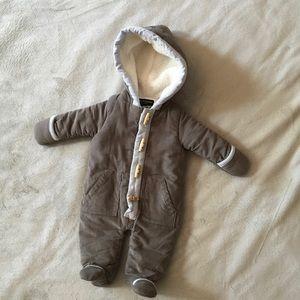 Wendy Bellissimo Other - Wendy Bellissimo grey/blue newborn snowsuit ❄️