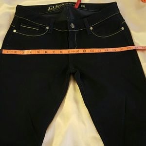Guess black Jeans straight Leg size 27.