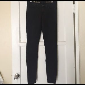 Madewell Denim - Madewell black skinny legging
