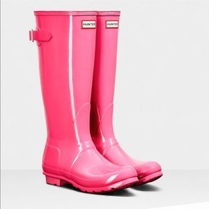 Hunter Shoes - Brand new hunter boots bright cerise