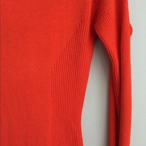 Arden B Dresses - Arden B cowl neck open shoulder sweater dress