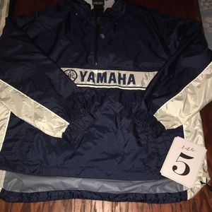 Fox Other - FOX YAMAHA Lightweight Pullover Jacket Large Navy