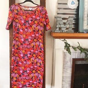 LuLaRoe Dresses & Skirts - Floral Julia Dress LuLaRoe S EUC
