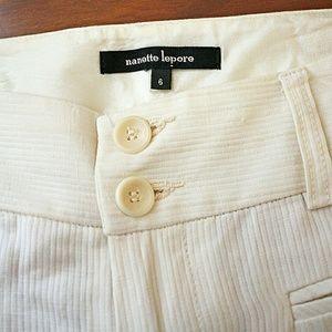 Nanette Lepore Pants - ☕Nanette Lepore☕Off white trouser fit pants