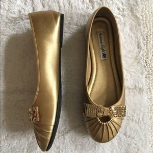 American Eagle by Payless Shoes - American Eagle Gold Flats