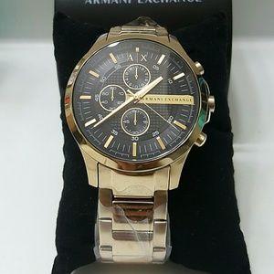 Armani Exchange  Other - NWT Armani Exchange Chronograph Gold Watch