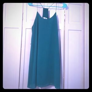 Dresses & Skirts - Green shift dress