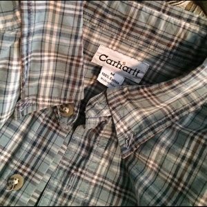 Carhartt Other - Carhartt 100% cotton LS with pocket patch. Size M.