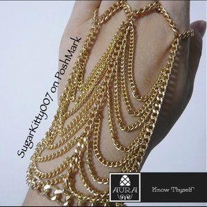 Jewelry - Sexy asf Gypsy Slave Bracelet Belly Dance Chain