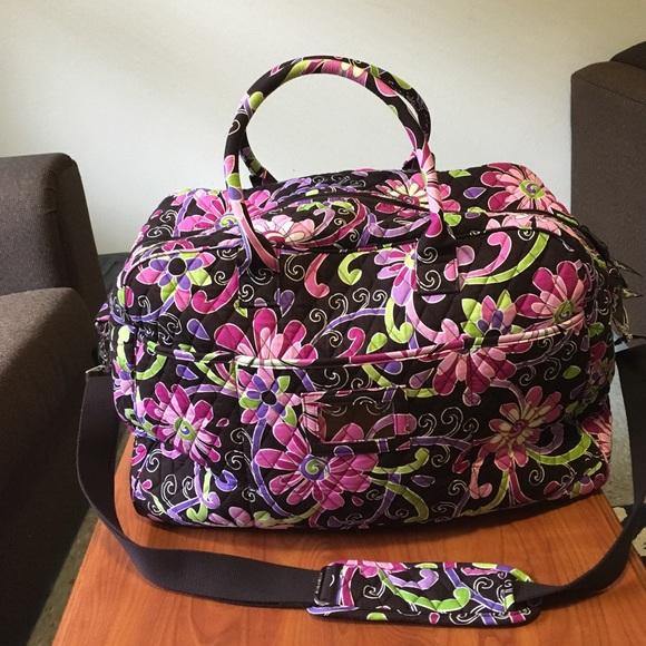 Vera Bradley Grand Traveler in Purple Punch. M 58bf1361bf6df5b401012759 31c4cffca1