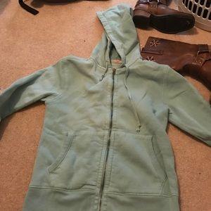 Faherty Jackets & Blazers - Faherty Brand Teal Hoodie