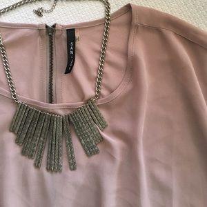 Tops - NWOT Blush blouse