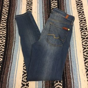 7 For All Mankind Skinny Jean NWOT