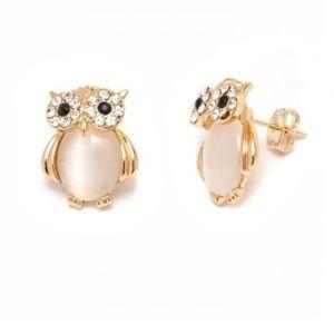 ❗️LAST ONE❗️FLASH SALE 26 Crystal owl  earrings