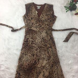 Ice Dresses & Skirts - Silk Wrap Dress