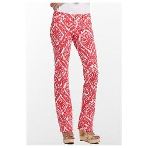 Lilly Pulitzer worth straight Jeans 00