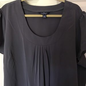 Lands' End Tops - Gorgeous gray blouse NWOT!! 💎