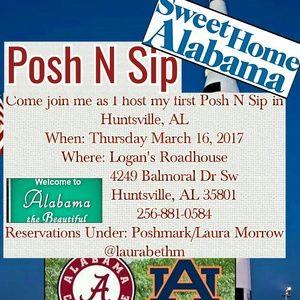 Hosting My 1st Posh N Sip Huntsville Al