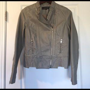 Black Rivet Jackets & Blazers - Faux leather jacket