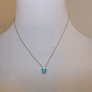 Kay Jewelers Jewelry - 30% OFF BUNDLES! Set! Blue Topaz around diamonds