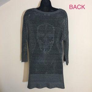 NWOT Rock & Republic skull sweater