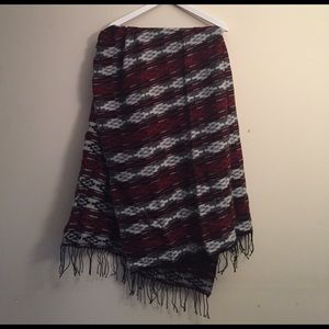 Accessories - Oversized southwestern print scarf