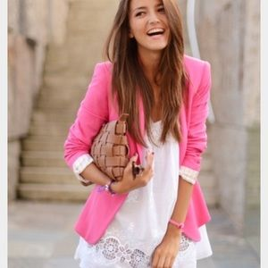 Candie's Tops - 🎀 Candie's Pink Blazer Small