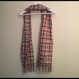 Accessories - Soft houndstooth print scarf plaid