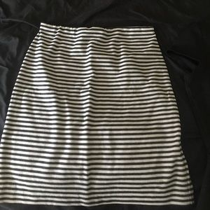 Skirt stripe