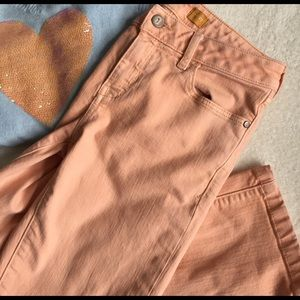 pilcro anthropologie jeans size 27