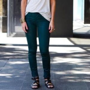 Anthropologie Denim - J Brand Skinny Leg jeans in Riviera Blue Mid Rise