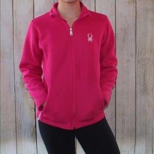 Spyder Sweaters - Spyder hot pink zip up