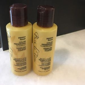 Bain de terre shampoo and conditioner samples